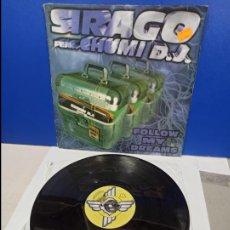 Discos de vinilo: MAXI SINGLE DISCO VINILO - SIRAGO FEAT. CHUMI DJ - FOLLOW MY DREAMS. Lote 210957906