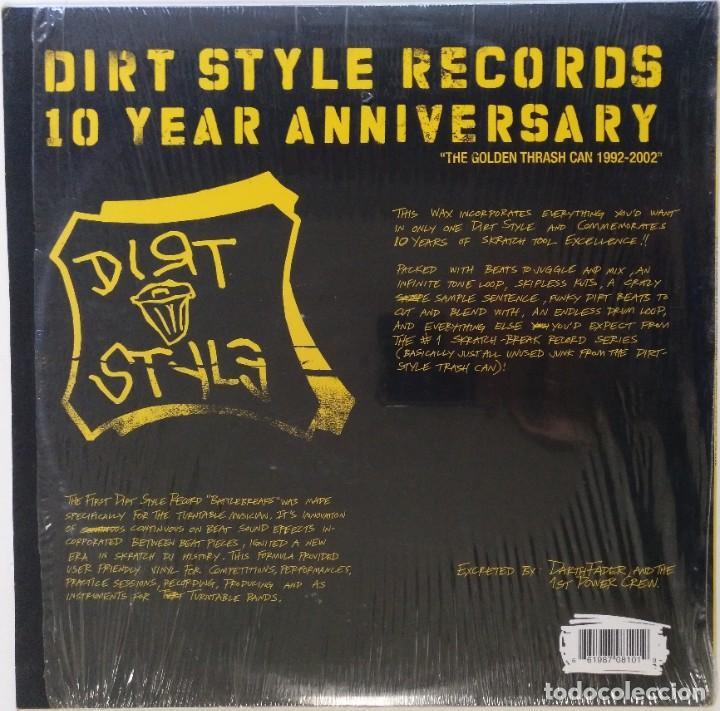 "Discos de vinilo: DARTH FADER - DIRT STYLE 10 ANNIVER [HIP HOP / SCRATCH / TURNTABLISM] [ORIGINAL LP 12"" 33RPM] [2002] - Foto 2 - 210958321"