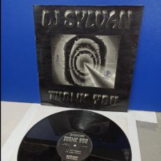 Discos de vinilo: MAXI SINGLE DISCO VINILO - DJ SYLVAN - THANK YOU. Lote 210961387