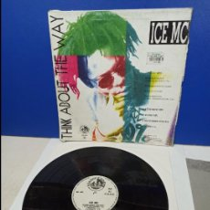 Discos de vinilo: MAXI SINGLE DISCO VINILO - ICE MC - THINK ABOUT THE WAY. Lote 210961682