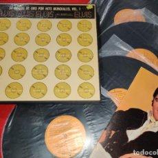 Discos de vinilo: CAJA BOX 4LP 50 DISCOS DE ORO POR HITS ELVIS PRESLEY VOL.1 1970 RCA ESPAÑA EXCELENTE+LIBRETO FOTOS. Lote 210961842