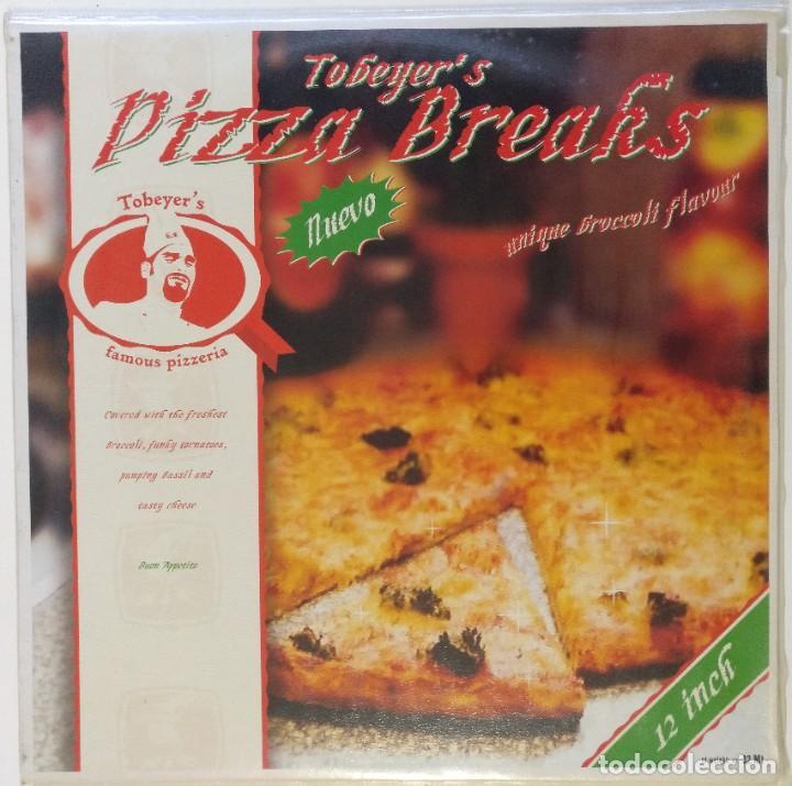 "TOBEYER - PIZZA BREAKS [HIP HOP / SCRATCH / TURNTABLISM] [DJ BATTLE TOOL LP 12"" 33RPM] [2003] (Música - Discos - LP Vinilo - Rap / Hip Hop)"