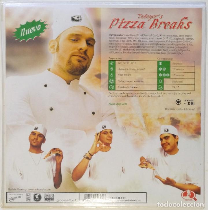 "Discos de vinilo: TOBEYER - PIZZA BREAKS [HIP HOP / SCRATCH / TURNTABLISM] [DJ BATTLE TOOL LP 12"" 33RPM] [2003] - Foto 2 - 210962117"