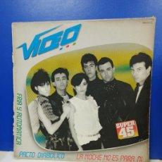 Discos de vinilo: MAXI SINGLE DISCO VINILO - VIDEO - LA NOCHE NO ES PARA MI. Lote 210962404