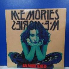 Discos de vinilo: MAXI SINGLE DISCO VINILO - JAMIE DEE - MEMORIES MEMORIES. Lote 210962739