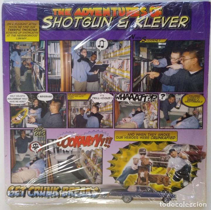 "DJ SHOTGUN & DL KLEVER - KRUNK BREAK [HIP HOP / SCRATCH / TURNTABLISM] [DJ TOOL LP 12"" 33RPM] [2005] (Música - Discos - LP Vinilo - Rap / Hip Hop)"
