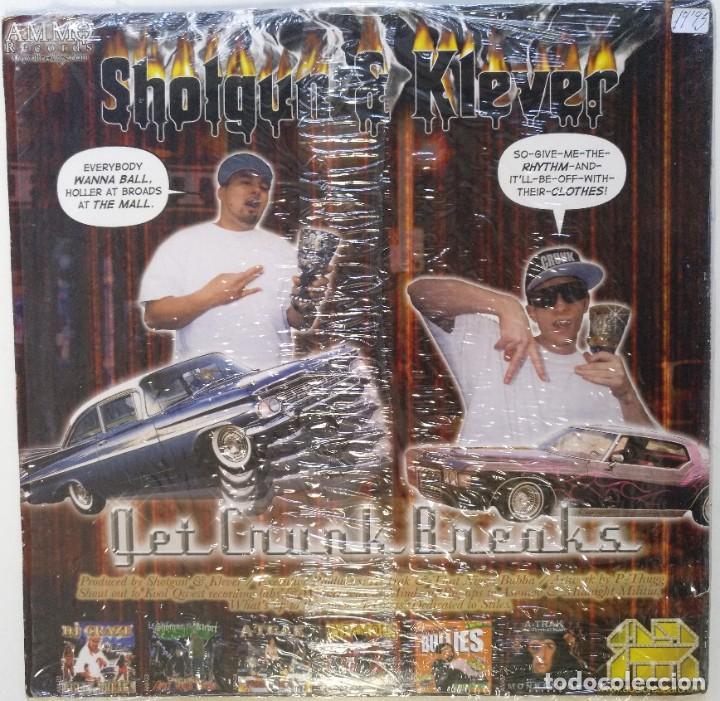 "Discos de vinilo: DJ SHOTGUN & DL KLEVER - KRUNK BREAK [HIP HOP / SCRATCH / TURNTABLISM] [DJ TOOL LP 12"" 33RPM] [2005] - Foto 2 - 210963236"
