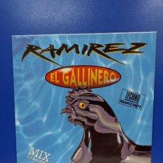 Discos de vinilo: MAXI SINGLE DISCO VINILO - RAMIREZ - EL GALLINERO. Lote 210963470