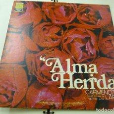 Discos de vinilo: CARMENCITA LARA - ALMA HERIDA - LP -EDICION PERU - AÑO 1976 - OLP 8342 -N. Lote 210963592