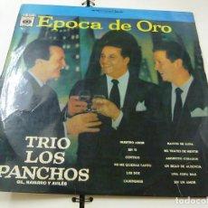 Discos de vinilo: TRIO LOS PANCHOS - EPOCA DE ORO -LP -N. Lote 210963679