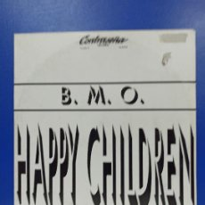 Discos de vinilo: MAXI SINGLE DISCO VINILO - B.M.O. - HAPPY CHILDREN. Lote 210963754