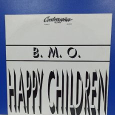 Discos de vinilo: MAXI SINGLE DISCO VINILO - B.M.O. - HAPPY CHILDREN. Lote 210963775