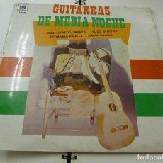 Discos de vinilo: GUITARRAS DE MEDIA NOCHE - LP-CUCO SANCHEZ-HERMANAS PADILLA-JOSE ALFREDO JIMENEZ .... -N. Lote 210963879