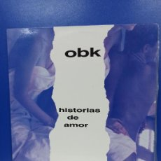 Discos de vinilo: MAXI SINGLE DISCO VINILO - OBK - HISTORIAS DE AMOR. Lote 210963945