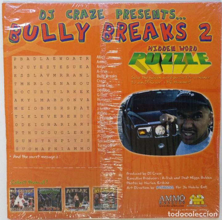 "Discos de vinilo: DJ CRAZE - BULLY BREAKS 2 [HIP HOP / SCRATCH / TURNTABLISM] [DJ BATTEL TOOL LP 12"" 33RPM] [2003] - Foto 2 - 210963964"