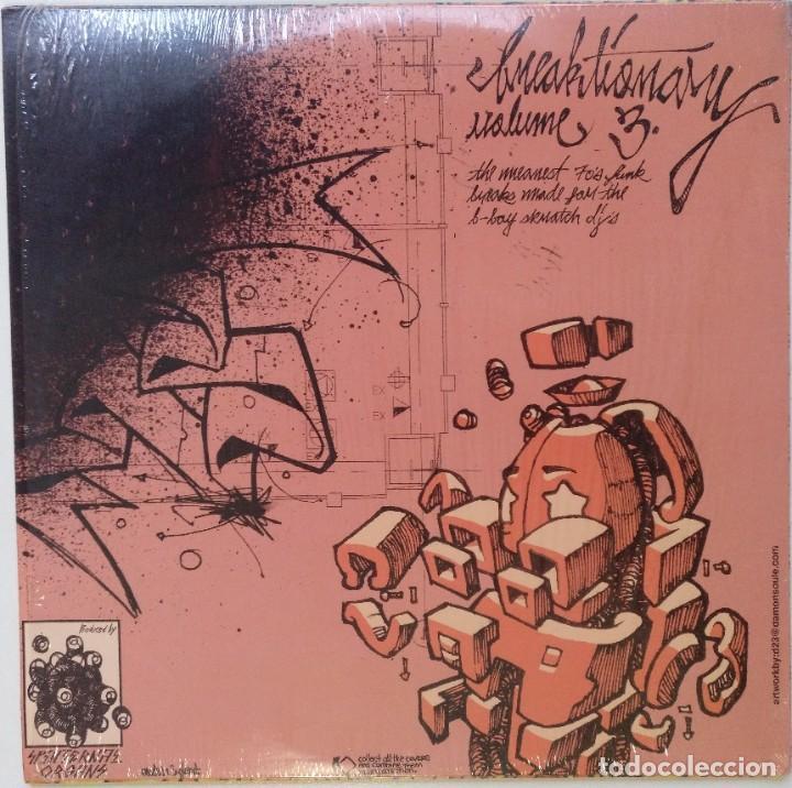"""Discos de vinilo: DJ Q-BERT - BREAKTIONARY Vol.3 [HIP HOP / SCRATCH / TURNTABLISM][DJ BATTEL TOOL LP 12"""" 33RPM] [2006] - Foto 2 - 210965065"""