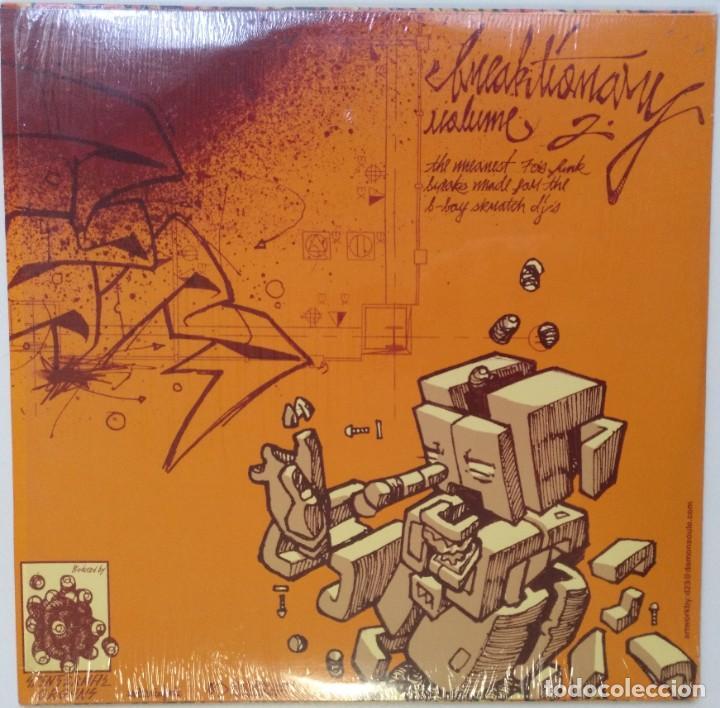 """Discos de vinilo: DJ Q-BERT - BREAKTIONARY Vol.2 [HIP HOP / SCRATCH / TURNTABLISM][DJ BATTEL TOOL LP 12"""" 33RPM] [2006] - Foto 2 - 210965289"""