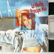 "Discos de vinilo: AMARO 7"" SPAIN 45 LA NOCHE PRINCIPE MIO SINGLE VINILO 1991 HARD ROCK FEMENINO MUY BUEN ESTADO MIRA !. Lote 210967416"