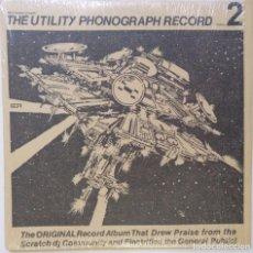 "Discos de vinilo: DJ RICCI RUCKER - UTILITY PHONOGRAPH 2 [HIP HOP / SCRATCH / TURNTABLISM][DJ TOOL LP 12"" 33RPM][2004]. Lote 210968726"
