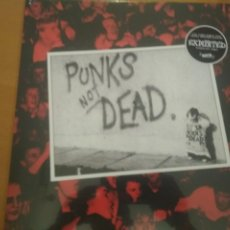 Discos de vinilo: THE EXPLOITED PUNK NOT DEAD LP ¡¡PRECINTADO¡¡. Lote 210969515