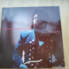 Discos de vinilo: VINILO LP JESSE JOHNSON ‎– EVERY SHADE OF LOVE. Lote 210975240