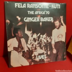 Discos de vinilo: FELA RANSOME KUTI AND THE AFRICA 70 WITH GINGER BAKER 'LIVE!'. Lote 210975811
