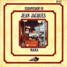 """Discos de vinilo: MÓNACO 69. """"MAMAM"""" . JEAN JACQUES. Lote 210978385"""