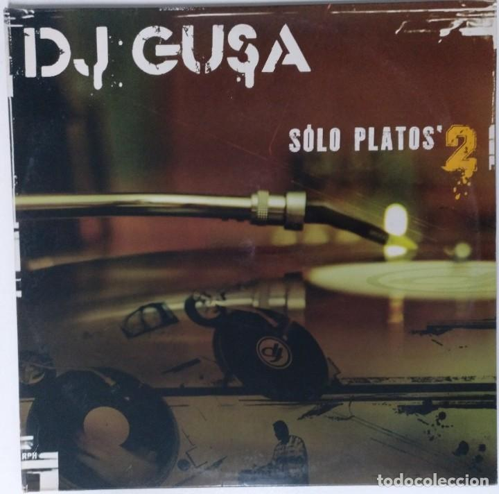 "DJ GUSA - SOLO PLATOS 2 [HIP HOP / SCRATCH / TURNTABLISM] [ORIGINAL DJ TOOL LP 12"" 33RPM] [2004] (Música - Discos - LP Vinilo - Rap / Hip Hop)"