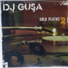 """Discos de vinilo: DJ GUSA - SOLO PLATOS 2 [HIP HOP / SCRATCH / TURNTABLISM] [ORIGINAL DJ TOOL LP 12"""" 33RPM] [2004]. Lote 210979000"""