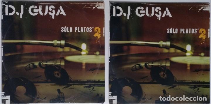 """Discos de vinilo: DJ GUSA - SOLO PLATOS 2 [HIP HOP / SCRATCH / TURNTABLISM] [ORIGINAL DJ TOOL LP 12"""" 33RPM] [2004] - Foto 3 - 210979000"""