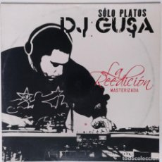 "Discos de vinilo: DJ GUSA - SOLO PLATOS VOL.1 [HIP HOP / SCRATCH / TURNTABLISM] [ORIGINAL DJ TOOL LP 12"" 33RPM] [2004]. Lote 210979151"