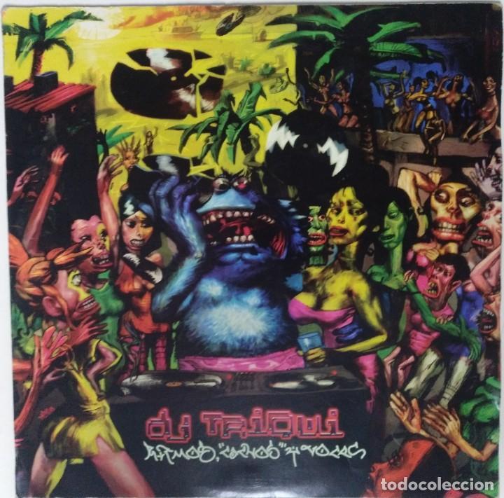"DJ TRIQUI - RITMOS, CACHOS Y VOCES [HIP HOP / SCRATCH / TURNTABLISM] [DJ TOOL LP 12"" 33RPM] [2005] (Música - Discos - LP Vinilo - Rap / Hip Hop)"