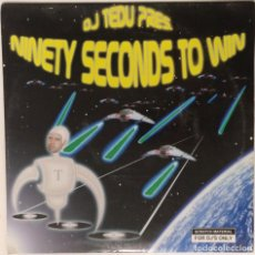 "Discos de vinilo: DJ TEDU - NINETY SECONDS TO WIN [HIP HOP / SCRATCH / TURNTABLISM] [DJ TOOL LP 12"" 33RPM] [2004]. Lote 210979557"