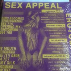 Discos de vinilo: SEX APPEAL - ERITOMANIA - MAXI ENFASIS 93 EROTOMANIA - NUEVO PRECINTADO SEXY. Lote 210987879