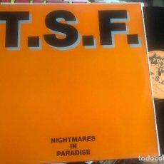 Discos de vinilo: TSF - T.S.F. - NIGHTMARES IN PARADISE - MAXI TOMA TOMA 93 TECHNO. Lote 210988544