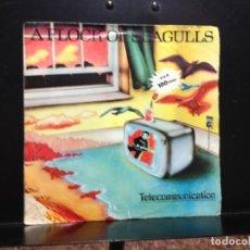 Discos de vinilo: A FLOCK OF SEAGULLS - TELECOMMUNICATION / SINGLE VINYL MADE IN SPAIN 1982. Lote 211262507