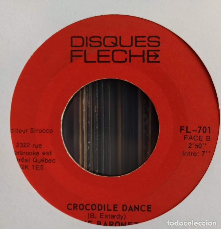 "Discos de vinilo: The Baronet - Le Telephone 75 / Crocodile Dance (7"", Single) (Disques Flèche) FL-701 (D: NM) - Foto 3 - 211264446"