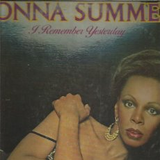 Discos de vinilo: DONNA SUMMER REMEMBER YESTERDAY. Lote 211265675