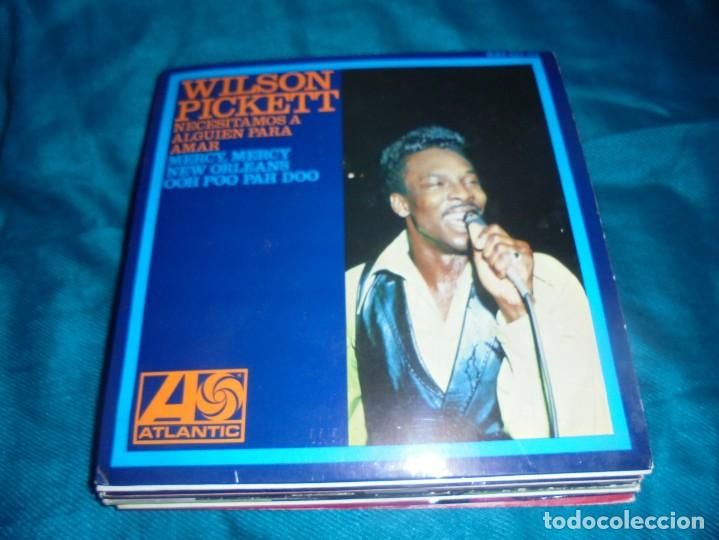 WILSON PICKETT. NECESITAMOS A ALGUIEN PARA AMAR + 3. EP. ATLANTIC, 1967. SPAIN. IMPECABLE (#) (Música - Discos de Vinilo - EPs - Jazz, Jazz-Rock, Blues y R&B)