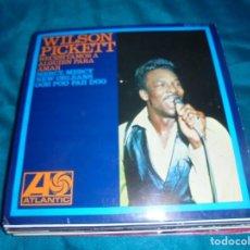Discos de vinilo: WILSON PICKETT. NECESITAMOS A ALGUIEN PARA AMAR + 3. EP. ATLANTIC, 1967. SPAIN. IMPECABLE (#). Lote 211268666