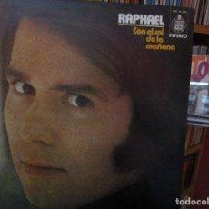 Discos de vinilo: RAPHAEL CON EL SOL DE LA MAÑANA ( EDICION CIRCULO DE LECTORES / EL GONDOLERO / LA DULCE MIMI /..... Lote 211269176