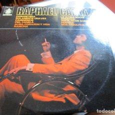 Discos de vinilo: RAPHAEL CANTA... // CABARETERA / PIEL CANELA / PERFIDIA / RAMONA / LA ULTIMA NOCHE / ANSIEDAD / ..... Lote 211269515