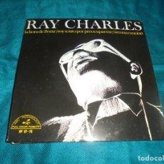 Discos de vinilo: RAY CHARLES. LA HORA DE LLORAR + 3. EP. ABC PARAMOUNT, 1966. SPAIN. IMPECABLE. Lote 211270576