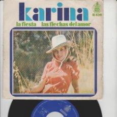 Discos de vinilo: LOTE V-DISCO VINILO MUSICA KARINA SINGLE. Lote 211271114
