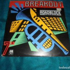 Discos de vinilo: STOCK AITKEN WATERMAN. ROADBLOCK. A & M, 1981. EDC. INGLESA. IMPECABLE. Lote 211271252