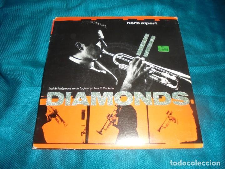 HERB ALPERT. DIAMONDS / ROCKET TO THE MOON. A & M, 1987. EDC. INGLESA. IMPECABLE (Música - Discos - Singles Vinilo - Jazz, Jazz-Rock, Blues y R&B)