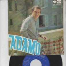 Discos de vinilo: LOTE V-DISCO VINILO MUSICA ADAMO SINGLE. Lote 211272060