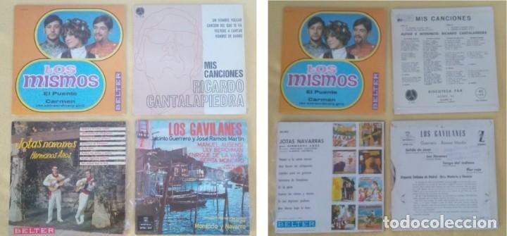 LOTE 29 EP´S VARIADOS. VER FOTOS. (Música - Discos de Vinilo - EPs - Grupos Españoles de los 70 y 80)