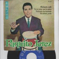 Discos de vinilo: LOTE V-DISCO VINILO MUSICA PAQUITO JEREZ SINGLE. Lote 211276419
