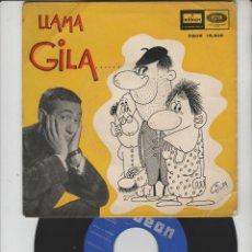 Discos de vinilo: LOTE V-DISCO VINILO GILA VALENCIA SINGLE. Lote 211277312